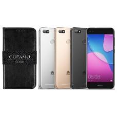 Gotamo D-gravity natūralios odos dėklas Huawei P9 Lite mini mobiliesiems telefonams juodos spalvos Šiauliai | Vilnius | Telšiai