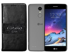 Gotamo D-gravity natūralios odos dėklas LG K8 (2017) mobiliesiems telefonams