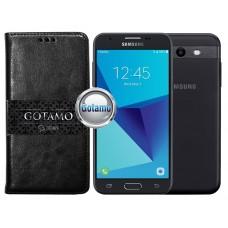 Gotamo D-gravity natūralios odos dėklas Samsung Galaxy J3 Prime J3 Emerge mobiliesiems telefonams juodos spalvos Telšiai | Palanga | Telšiai