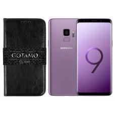 Gotamo D-gravity natūralios odos dėklas Samsung Galaxy S9 mobiliesiems telefonams juodos spalvos Palanga | Telšiai | Kaunas