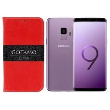 Gotamo D-gravity natūralios odos dėklas Samsung Galaxy S9 mobiliesiems telefonams raudonos spalvos Palanga | Klaipėda | Vilnius
