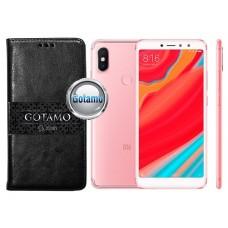 Gotamo D-gravity natūralios odos dėklas Xiaomi Redmi S2 mobiliesiems telefonams juodos spalvos Šiauliai | Šiauliai | Klaipėda
