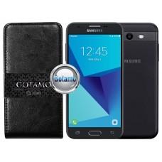 Gotamo I-gravity natūralios odos dėklas Samsung Galaxy J3 Prime J3 Emerge mobiliesiems telefonams juodos spalvos Vilnius | Kaunas | Palanga