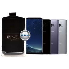 Gotamo Insert įmaunamas natūralios odos dėklas Samsung Galaxy S8 telefonams juodos spalvos Vilnius | Vilnius | Telšiai