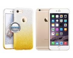 iLLuminaTe silikoninis dėklas nugarėlė Apple iPhone 6 6s telefonams aukso spalvos