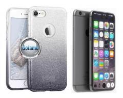 iLLuminaTe silikoninis dėklas nugarėlė Apple iPhone 7 8 SE (2020) telefonams sidabro spalvos