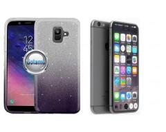 iLLuminaTe silikoninis dėklas nugarėlė Apple iPhone 7 8 SE (2020) telefonams tamsiai violetinės spalvos
