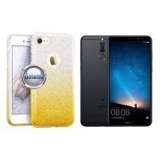 iLLuminaTe silikoninis dėklas nugarėlė Huawei Mate 10 Lite telefonams aukso spalvos Palanga | Telšiai | Vilnius