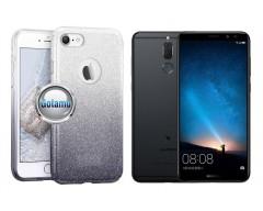 iLLuminaTe silikoninis dėklas nugarėlė Huawei Mate 10 Lite telefonams sidabro spalvos