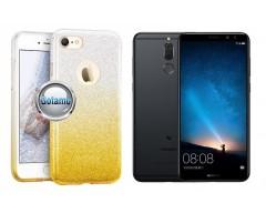 iLLuminaTe silikoninis dėklas nugarėlė Huawei P Smart telefonams aukso spalvos