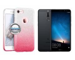 iLLuminaTe silikoninis dėklas nugarėlė Huawei P Smart telefonams rožinės spalvos