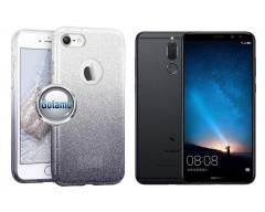iLLuminaTe silikoninis dėklas nugarėlė Huawei P Smart telefonams sidabro spalvos