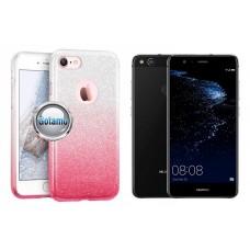 iLLuminaTe silikoninis dėklas nugarėlė Huawei P10 Lite telefonams rožinės spalvos Klaipėda | Palanga | Šiauliai