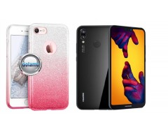 iLLuminaTe silikoninis dėklas nugarėlė Huawei P20 Lite telefonams rožinės spalvos