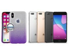 iLLuminaTe silikoninis dėklas nugarėlė Huawei P9 Lite mini telefonams violetinės spalvos