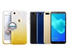 iLLuminaTe silikoninis dėklas nugarėlė Huawei Y5 (2018) Huawei Honor 7S telefonams aukso spalvos