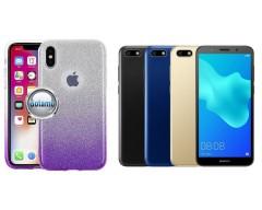 iLLuminaTe silikoninis dėklas nugarėlė Huawei Y5 (2018) Huawei Honor 7S telefonams violetinės spalvos