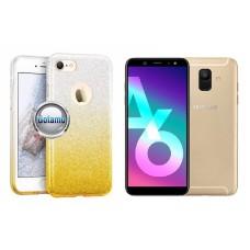 iLLuminaTe silikoninis dėklas nugarėlė Samsung Galaxy A6 (2018) telefonams aukso spalvos Kaunas | Šiauliai | Palanga