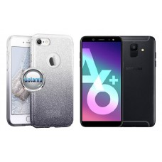 iLLuminaTe silikoninis dėklas nugarėlė Samsung Galaxy A6+ (2018) telefonams sidabro spalvos Telšiai | Telšiai | Palanga