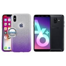 iLLuminaTe silikoninis dėklas nugarėlė Samsung Galaxy A6+ (2018) telefonams violetinės spalvos Telšiai | Klaipėda | Vilnius