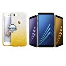 iLLuminaTe silikoninis dėklas nugarėlė Samsung Galaxy A8 (2018) telefonams aukso spalvos Šiauliai | Šiauliai | Kaunas