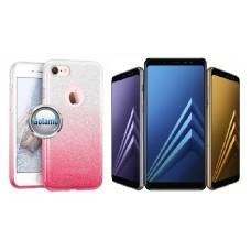 iLLuminaTe silikoninis dėklas nugarėlė Samsung Galaxy A8 (2018) telefonams rožinės spalvos Palanga | Vilnius | Plungė