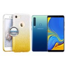 iLLuminaTe silikoninis dėklas nugarėlė Samsung Galaxy A9 (2018) telefonams aukso spalvos Telšiai | Kaunas | Palanga