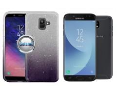 iLLuminaTe silikoninis dėklas nugarėlė Samsung Galaxy J5 (2017) J5 Pro telefonams tamsiai violetinės spalvos