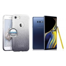 iLLuminaTe silikoninis dėklas nugarėlė Samsung Galaxy Note 9 telefonams sidabro spalvos Klaipėda | Kaunas | Palanga