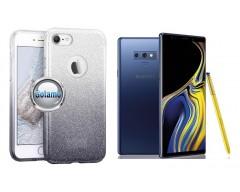 iLLuminaTe silikoninis dėklas nugarėlė Samsung Galaxy Note 9 telefonams sidabro spalvos