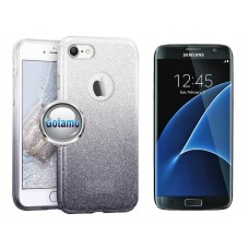 iLLuminaTe silikoninis dėklas nugarėlė Samsung Galaxy S7 edge telefonams sidabro spalvos