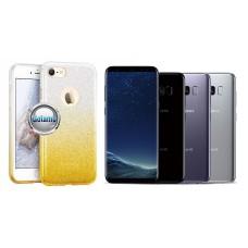 iLLuminaTe silikoninis dėklas nugarėlė Samsung Galaxy S8 telefonams aukso spalvos Telšiai | Plungė | Kaunas