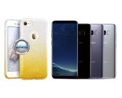 iLLuminaTe silikoninis dėklas nugarėlė Samsung Galaxy S8 telefonams aukso spalvos