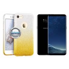 iLLuminaTe silikoninis dėklas nugarėlė Samsung Galaxy S8+ telefonams aukso spalvos Telšiai | Palanga | Kaunas