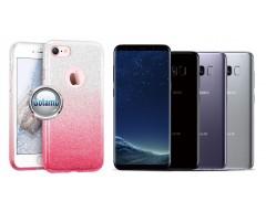iLLuminaTe silikoninis dėklas nugarėlė Samsung Galaxy S8 telefonams rožinės spalvos