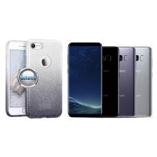 iLLuminaTe silikoninis dėklas nugarėlė Samsung Galaxy S8 telefonams sidabro spalvos Klaipėda | Telšiai | Vilnius