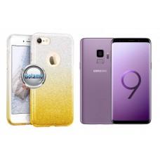 iLLuminaTe silikoninis dėklas nugarėlė Samsung Galaxy S9 telefonams aukso spalvos Plungė | Palanga | Palanga