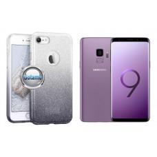 iLLuminaTe silikoninis dėklas nugarėlė Samsung Galaxy S9 telefonams sidabro spalvos Šiauliai | Klaipėda | Šiauliai