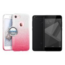 iLLuminaTe silikoninis dėklas nugarėlė Xiaomi Redmi 4X telefonams rožinės spalvos Šiauliai | Kaunas | Telšiai