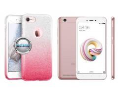 iLLuminaTe silikoninis dėklas nugarėlė Xiaomi Redmi 5A telefonams rožinės spalvos