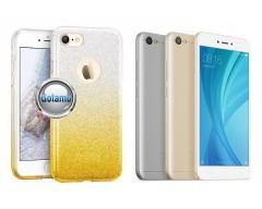 iLLuminaTe silikoninis dėklas nugarėlė Xiaomi Redmi Note 5A telefonams aukso spalvos