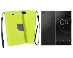 Manager dėklas Sony Xperia XA1 mobiliesiems telefonams salotinės spalvos