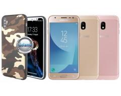 Military dėklas nugarėlė Samsung Galaxy J3 (2017) telefonams kamufliažinė