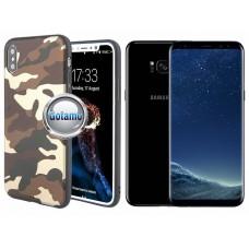 Military dėklas nugarėlė Samsung Galaxy S8+ telefonams kamufliažinė