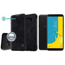 Nillkin Qin odinis dėklas Samsung Galaxy J6 (2018) telefonams juodos spalvos Palanga | Vilnius | Klaipėda