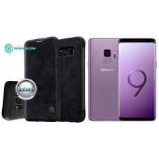 Nillkin Qin odinis dėklas Samsung Galaxy S9 telefonams juodos spalvos Kaunas | Šiauliai | Kaunas