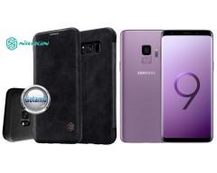 Nillkin Qin odinis dėklas Samsung Galaxy S9 telefonams juodos spalvos