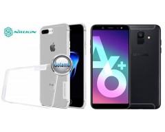 Nillkin silikoninis dėklas nugarėlė Samsung Galaxy A6+ (2018) telefonams