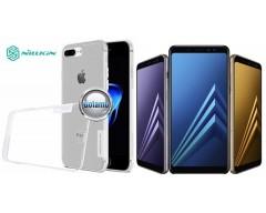 Nillkin silikoninis dėklas nugarėlė Samsung Galaxy A8 (2018) telefonams