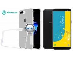 Nillkin silikoninis dėklas nugarėlė Samsung Galaxy J6 (2018) telefonams